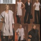 Vogue Sewing Pattern 8546 Misses Size 8-14 Easy Knit  Wardrobe Jacket Top Dress Skirt Pants