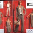 Vogue Sewing Pattern 2976 Misses Size 6-14 Easy ADRI Wardrobe Jacket Top Dress Skirt Pants