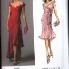 Vogue Sewing Pattern 2880 Misses Size 16-18-20 Bellville Sassoon Formal Dress Long Short Ruffles