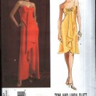 Vogue Sewing Pattern 2847 V2847 Misses Size 6-10 Tom Linda Platt Strapless Formal Gown Dress