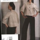 Vogue Sewing Pattern 1098 Misses Size 14-20 Anne Klein Lined Jacket Pants Pantsuit