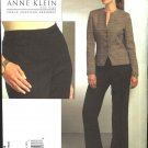 Vogue Sewing Pattern 1064 Misses Size 16-22 Anne Klein Button Front Jacket Pants Pantsuit