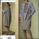 Vogue Sewing Pattern 1187 Misses Size 14-20 Koos Van Den Akker Pullover Contrast Fabric Dress