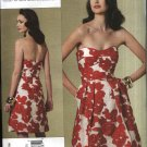 Vogue Sewing Pattern 1174 Misses Size 12-18 Cynthia Steffe Lined Strapless A-Line Dress