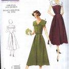 Vogue Sewing Pattern 1171 Misses Size 16-22 Vintage 1950 Design Sleeveless Button Front Dress