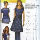 Butterick Sewing Pattern 5503 Misses Size 3-16 Pullover Sleeveless Short Sleeve Top Blouse