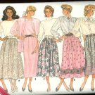 Butterick Sewing Pattern 5736 Misses Size 8-10-12 Easy Classic Straight A-lIne Flared Skirts