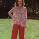 Butterick Sewing Pattern 5779 Misses Size 10  Easy Sleeveless Top Long Sleeved Jacket Pants