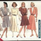 Butterick Sewing Pattern 5894 Misses Size 12-14-16 Easy Classic Knit Long Sleeve Flared Skirt Dress