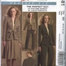 McCall's Sewing Pattern 5481 Miss Size 16-22 Classic Fit Suit Front Tie Jacket Pants Flared Skirt
