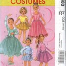 McCall's Sewing Pattern 5680 Girls Size 7-14 Knit Leotard Ballet Dance Ice Skating Costumes Skirts