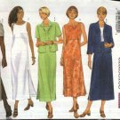Butterick Sewing Pattern 5932 Misses Size 8-10-12 Easy Classic Straight Pullover Dress Jacket