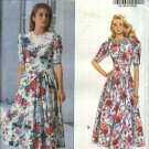 Butterick Sewing Pattern 5975 Misses Size 6-8-10 Easy Classic Full Skirt Fitted Bodice Knit Dress