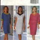Butterick Sewing Pattern 5982 Misses Size 6-8-10 Easy Pullover Straight Dress Sleeve Variations