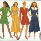 Butterick Sewing Pattern 5983 Misses Size 6-8-10 Easy Classic Tops Split Skirt Gauchos Culottes