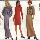 Butterick Sewing Pattern 6762 Misses Size 18-20-22 Easy Jacket Vest Knit Short Long Dress