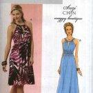 Butterick Sewing Pattern 5491 Misses Size 14-20 Easy Suzi Chin Formal Long Short Knit Dress