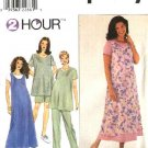 Simplicity Sewing Pattern 8589 Misses Size 18-22 Maternity Wardrobe Dress Jumper Top Pants Shorts