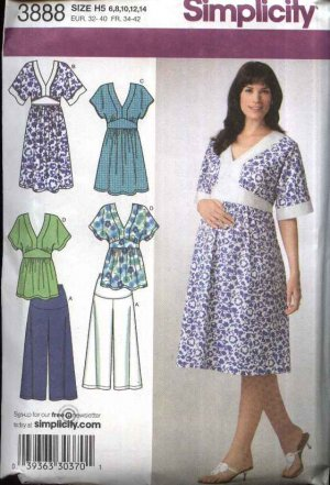 Maternity and Nursing Sewing Patterns