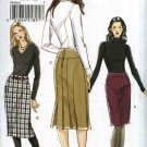 Vogue Sewing Pattern 8426 Misses Size 6-8-10 Easy Straight Seamed Skirt Back Slits Pleats