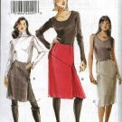 Vogue Sewing Pattern 8518 Misses Size 6-12 Easy Tapered Lined Yoked Skirts