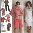Simplicity Sewing Pattern 2894 Womans Plus Size 20W-28W Wardrobe Dress Shorts Pants Tunic Top