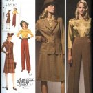 Simplicity Sewing Pattern 3688 Misses Size 10-18 1940's Retro Wardrobe Jacket Skirt Pants