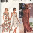 Simplicity Sewing Pattern 9496 Misses Size 6-8-10 Princess Seam Short Sleeve Sleeveless Dress