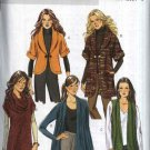 Butterick Sewing Pattern 5528 Misses Size 16-26 Easy Knit Cardigan Tunic Jacket Cowl Neck