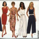 Butterick Sewing Pattern 6786 Misses Size 6-14 Easy Classic Straight Full Skirted Dress Jumpsuit
