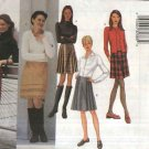 Butterick Sewing Pattern 6794 Misses Size 12-14-16 Easy Straight Pleated Mock Wrap A-Line Skirts