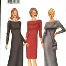 Butterick Sewing Pattern 6817 Misses Size 6-8-10 Easy Pullover Straight Knit Short Long Dress Purse