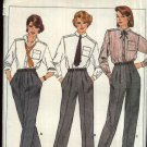 Butterick Sewing Pattern 6879 Misses Size 6-8-10 Height Proportioned Pants Trousers Slacks