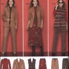 Simplicity Sewing Pattern 2287 Womens Plus Size 20W-28W  Wardrobe Jacket Vest Pants Skirt Knit Top