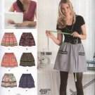 Simplicity Sewing Pattern 2286 Misses Size 6-18 Learn To Sew Gathered Pull On Skirt With Variations