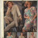 Simplicity Sewing Pattern 7312 Misses Size 12 Classic Wardrobe Top Skirt Pants Jacket Dress