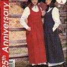 McCall's Sewing Pattern P228 7790 Misses Size 10-16 Easy Raised Waist Jumper Petticoat Half Slip