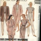 McCall's Sewing Pattern 4488 Misses Size 8 Wardrobe Top Straight Skirt Long Pants Cardigan