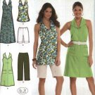 Simplicity Sewing Pattern 3773 Womens Plus Size 20W-28W Easy Summer Wardrobe Halter Dress Top