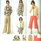Simplicity Sewing Pattern 3843 Womens Plus Size 20W-28W Wardrobe Jacket Dress Pants Shell Top