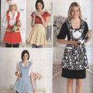 Simplicity Sewing Pattern 2298 Misses Size 10-20 Full Half Vintage Style Aprons Bottle Cozy Hat