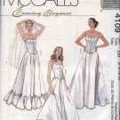 McCall's Sewing Pattern 4109 Misses Size 4-10 Long Full Slips Petticoats Boned Top Corset Bustier