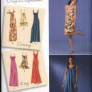 Simplicity Sewing Pattern 2582 Misses Size 14-22 Long Short Raised Waist Evening Prom Day Dress