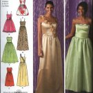 Simplicity Sewing Pattern 2440 Misses Size 4-12 Evening Wedding Prom Gown Dress Variations