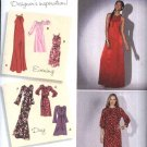Simplicity Sewing Pattern 2308 Misses Size 14-22 Loose Fitting Long Short Dress Sleeve Options