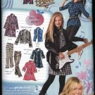 Simplicity Sewing Pattern 2294 Girls Plus Size 8½-16½ Hannah Montana Wardrobe Dress Jacket Pants