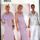 Butterick Sewing Pattern 6532 Misses Size 12-14-16 Easy Sleeveless Straight Long Dress Jacket