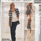 McCall's Sewing Pattern 8178 Misses Size 16-20 Easy Wardrobe Sleeveless Dress Top Jacket Pants