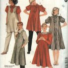 McCall's Sewing Pattern 2055 Misses Size 24 Maternity Dress Top Jumper Tunic Pants Blouse