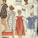 McCall's Sewing Pattern 2424 Misses Size 14-16 Maternity Pullover Dress Top Pants Shorts